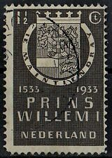 Netherlands 1933 Fourth Birth Centenary of Prins Willem I /Mi:Nl 257/ 1½ c Stamp