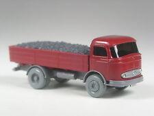 Top: Wiking pms modello pubblicitari Mercedes 312 carbone CAMION ROSSO VINACCIA