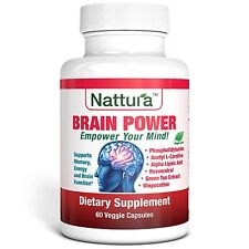 BRAIN POWER - Memory, Energy and Brain Function Support