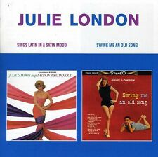 Julie London - Sings Latin in a Satin Mood / Swing Me An Old Song [New CD]