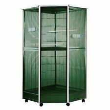 """Anec-100G3-Corner Aviary Bird Cage Size: Small (61"""" H x 30"""" W x 37"""" D)"""