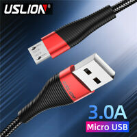 Fast Charging High-Speed Micro USB Cable 3A Charger Data Cable For Android Phone
