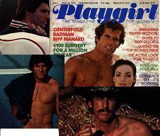 PLAYGIRL 5-75 HAIRY COWBOY BIFF MANARD SAM JONES KIP JERGER FALK  GOULD MAY 1975