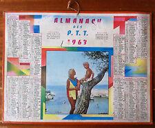 ALMANACH des Postes P.T.T 1963  - Nord -