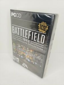 Battlefield 1942 The Complete Collection NEW Unopened Sealed PC Game