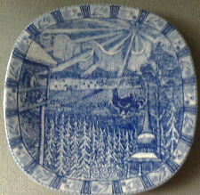 RORSTRAND SWEDEN JULEN 1985 LIMITED EDITION CHRISTMAS PLATE GUNNAR NYLUND