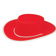 81e0552040cc Child Red Cowboy Hat Jessie Toy Story 2 3 Cowgirl Costume Movie Kids Girls  Gift