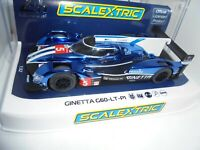 Scalextric C4033 Ginetta G60 LT P1 Le Mans 2018 #5  lights/DPR BNIB