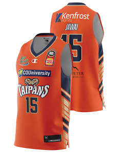 Cairns Taipans 20/21 Authentic Home Jersey - Nate Jawai, NBL Basketball