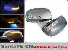 LED Side  Mirror  Cover ( 1 way ) for Hyundai Santa Fe CM (2007~2010)///