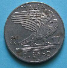 50 Centesimi Impero Vittorio Emanuele III 1941 XIX - C BB+