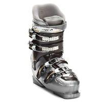 $170 Nordica One 40 Women's Ski Boots Size 23.5 - Silver/dark Grey