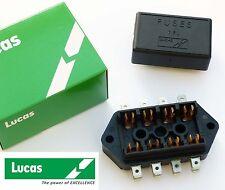 Lucas 7FJ, 4 way Fuse Box & Cover, Lucas 37420, RTC440A, for Triumph Mini MG etc