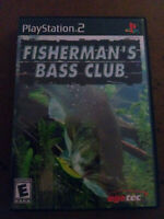 Fisherman's Bass Club (Sony PlayStation 2, 2003) - PS2