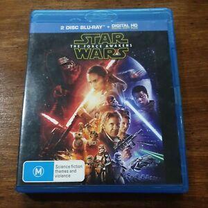 Star Wars THE FORCE AWAKENS Blu-ray LIKE NEW! FREE POST