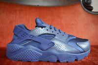 NEW Nike WMNS Air Huarache Run PRM LEGEND BLUE 683818 400 Size 10 Purple Midnigh