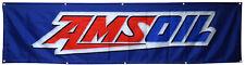 Amsoil Flag Motor Oil Mechanic 2x8ft Banner
