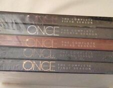 Once Upon a Time Complete Seasons 1-5 DVD Seasons 1,2,3,4,5 Free Shipping