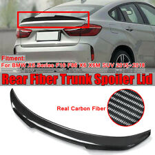 For BMW X6 Series F16 F86 X6 X6M SUV 15-18 PSM Style Carbon Fiber Trunk   AU