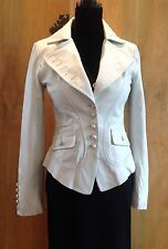 SPORT MAX CODE Leather Jacket UK 8-10 Fab Condition