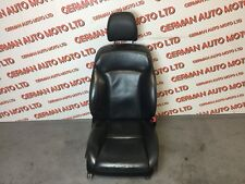 LEXUS IS220 2005-2010 FRONT DRIVER BLACK LEATHER SEAT ELECTRIC