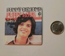 Miniature record album 1/6 Playscale Donny Osmond Puppy Love