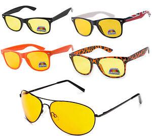Night Day Vision Driving Polarized Lens Frame Sunglasses Glasses