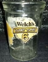 """#6 Welch's LOONEY TUNES """"SYLVESTER & TWEETY"""" Collector Series Jelly Jar No Lid"""