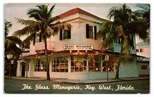 1972 The Glass Menagerie, Key West, FL Postcard