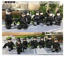 SWAT Army Navy Seals Special Forces Team Soldier Building Blocks Fit Lego X 6