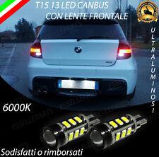 LAMPADE RETROMARCIA 13 LED T15 W16W CANBUS BMW SERIE 1 E87 6000K NO ERROR