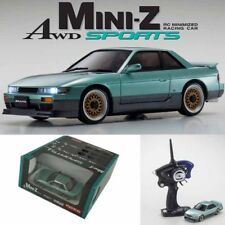 Kyosho MINI-Z AWD Sports MA-020S NISSAN SILVIA S13 K's Aero Lime Green RTR W/LED