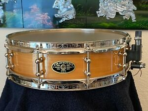MINT-NEVER PLAYED! #5 of 25 2002 CRAVIOTTO 4x14 LAKE SUPERIOR BIRCH SNARE DRUM