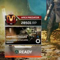 Apex Legends RANK Boost to PRED/MASTER | BADGES 4K 20 KILLS  |PS4