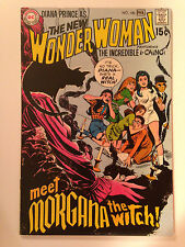 WONDER WOMAN (1970) 186  1ST APPEARANCE OF MORGANA THE WITCH SEKOWSKY DC COMICS