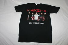 Maroon 5 Medium Concert Tour T Shirt 2015 World