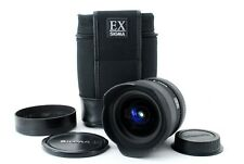 Ex+ Clear lens Sigma EX 12-24mm f/4.5-5.6 DG HSM Canon w/Case from Japan 1023620