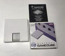 Orginal Gamecube Speicherkarte 59 OVP