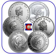 2017 Silver Shield Mini Mintage Slave Queen Set of 6 1oz Coins w/ CoA & airtites