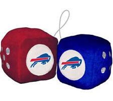 Buffalo Bills Fuzzy Dice NFL Football Team Logo Plush Car Truck Auto