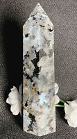 107.6g NATURAL RARE LARVIKITE CRYSTAL POLISHED HEALING WAND  Reiki   NORWAY