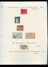 West Germany 1972 Album Page Of Stamps #V3065