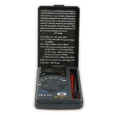 Mini Pocket LCD Digital Multimeter Current Voltage Meter AC DC Tester Test New