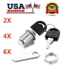 246pcsset 20mm Cylinder Cam Key Locks Tool Box File Cabinet Desk Drawer Keys