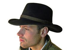 Chapeaux cow-boy/western noirs pour homme