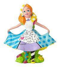 Disney By Britto*Mini Alice In Wonderland*New*Nib*Miniat ure*Romero*4059584
