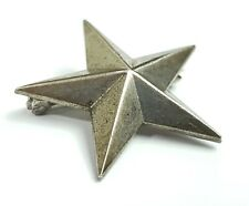 WWII US Army Sterling / NS Meyer Pin Back Brigadier General Star