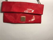 Cherry Red Dooney And Burke Clutch