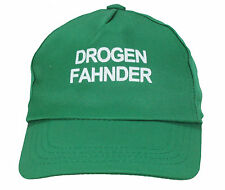 Kinder Cap Mütze * Drogen Fahnder Grün