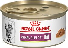 Royal Canin Veterinary Diet Renal Support T Wet Cat Food 24 Cans 3 Oz Exp. 2020